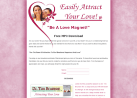 attractingyourlove.timbrunson.com