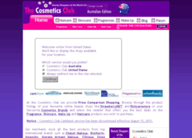 au.cosmeticsclub.com