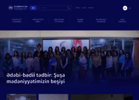 au.edu.az