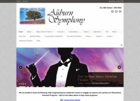 auburnsymphony.com