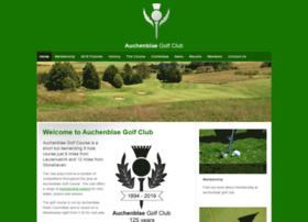 auchenblaegolfclub.co.uk
