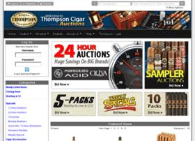 auction.thompsoncigar.com
