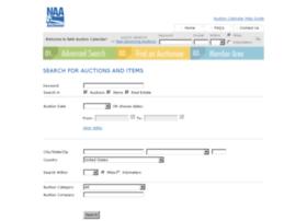 auctioncalendar.auctioneers.org