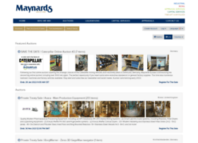 auctions.maynards.com