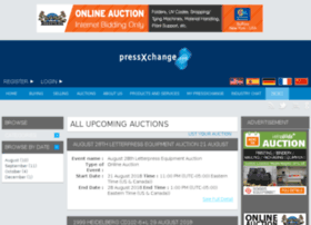 auctions.pressxchange.com
