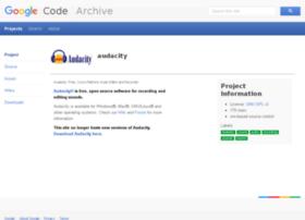 audacity.googlecode.com