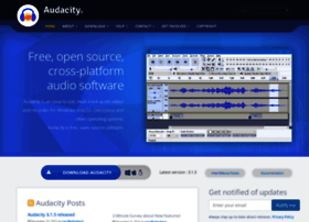 audacityteam.org