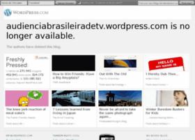 Audienciabrasileiradetv.wordpress.com