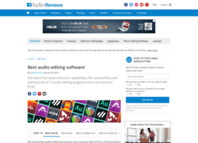 audio-editing-software-review.toptenreviews.com