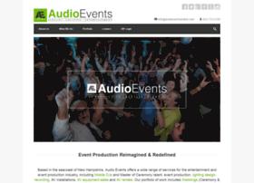 audioeventsonline.com