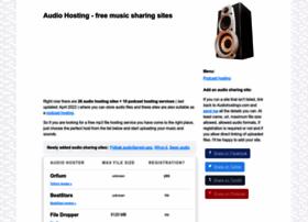 audiohostings.com