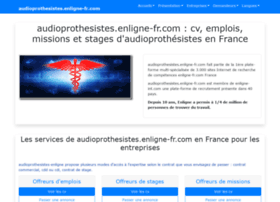 Audioprothesistes.enligne-fr.com