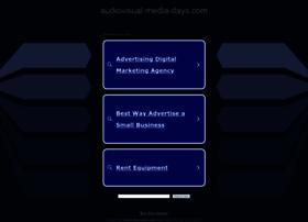 audiovisual-media-days.com