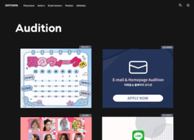 audition.smtown.com