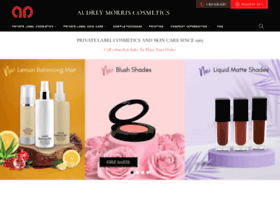 audreymorriscosmetics.com