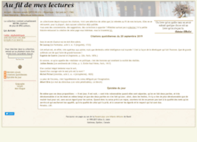 aufildemeslectures.net