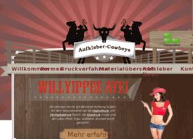 aufkleber-cowboys.de