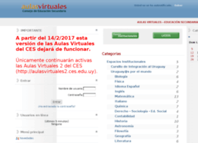 aulasvirtuales.ces.edu.uy