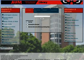 aumnicat.aum.edu