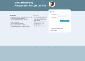 aums-blr.amrita.edu