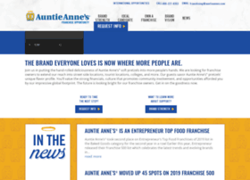 auntieannesfranchising.com