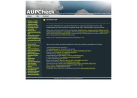 aupcheck.com