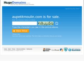 aupetitmoulin.com