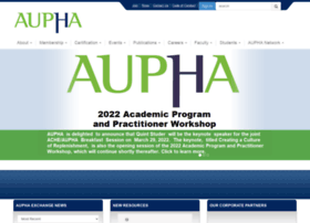 aupha.org
