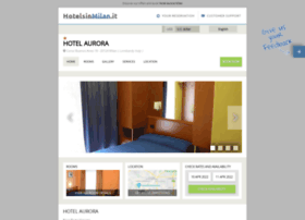 aurora.hotelsinmilan.it
