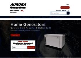 auroragenerators.com