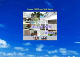 aurorahillresort.com