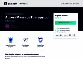 auroramassagetherapy.com