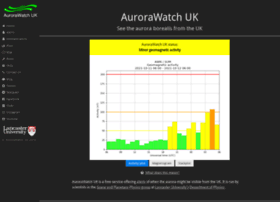 aurorawatch.lancs.ac.uk