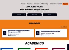 aurouniversity.edu.in