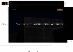 aurum-trust.com