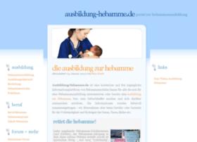 ausbildung-hebamme.de