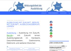 ausbildung.bewerberbibel.de
