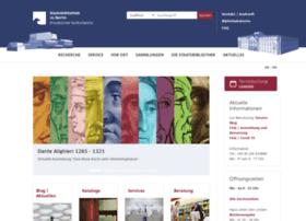 ausleihe.staatsbibliothek-berlin.de