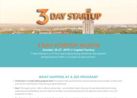 austin.3daystartup.org