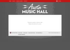 austinmusichall.frontgatetickets.com