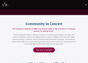 austinsymphonicband.org