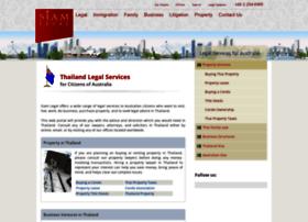 australia.siam-legal.com