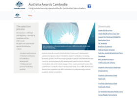 australiaawardscambodia.org