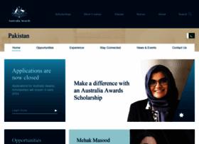 australiaawardspakistan.org