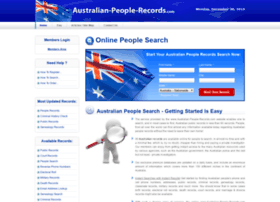 australian-people-records.com