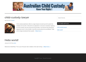 australianchildcustody.com