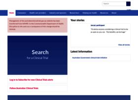 australianclinicaltrials.gov.au