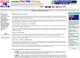 australianfreepaidsurveys.com