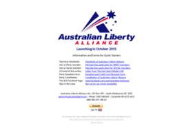 australianlibertyalliance.org