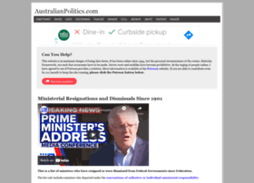 australianpolitics.com